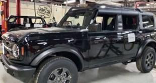 2021 Ford Bronco design