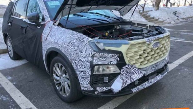 2021 Ford Endeavour engine