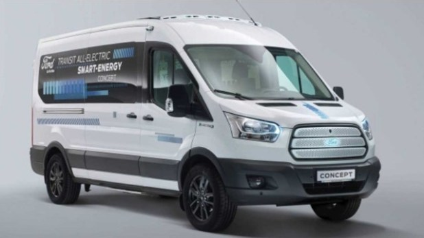 2021 Ford Transit concept