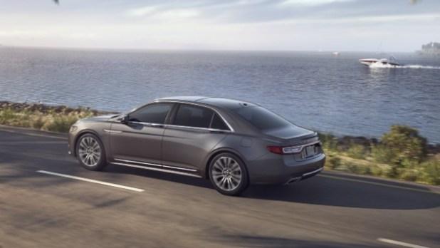 2021 Lincoln Continental design
