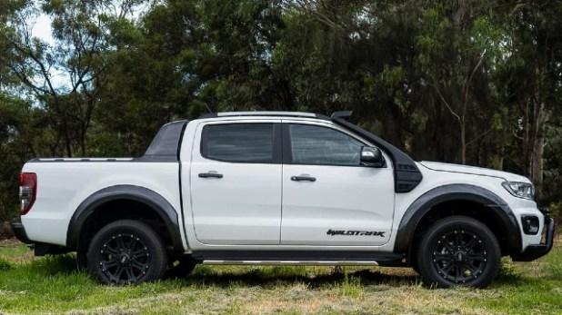 2021 Ford Ranger Wildtrak styling