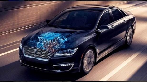 2021 Lincoln Zephyr engine