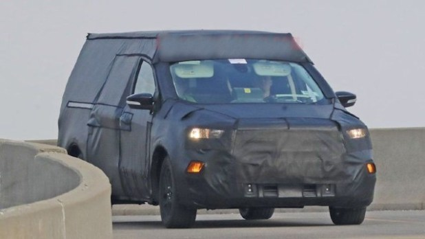 2021 Ford Focus Compact Pickup Truck spy shots