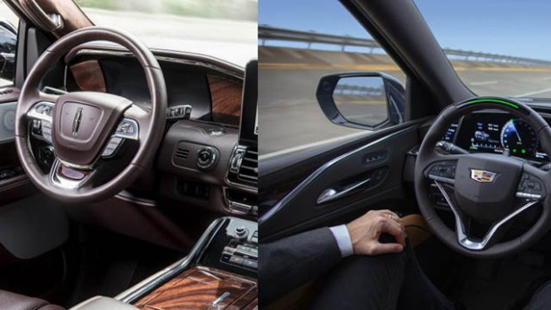 2021 Lincoln Navigator vs. 2021 Cadillac Escalade interior