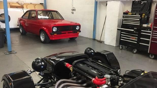 Ford Escort MK2 engine