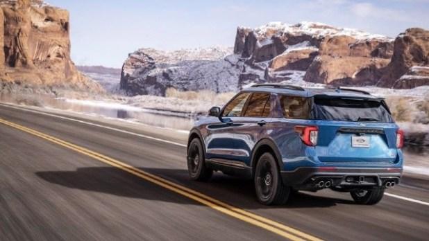 2021 Ford Explorer ST changes