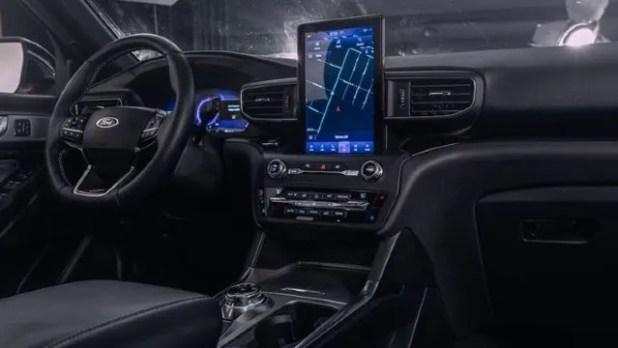 2021 Ford Explorer ST interior