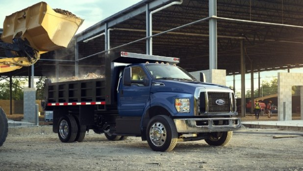 2021 Ford F-750 changes