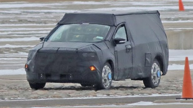 2021 Ford Ranchero spied