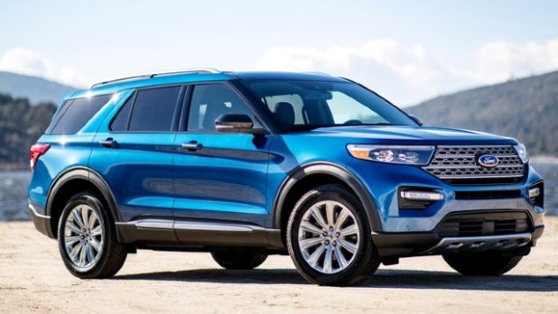 2022 Ford Explorer colors