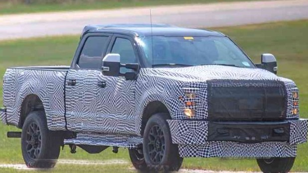 2022 Ford F-250 Super Duty spied