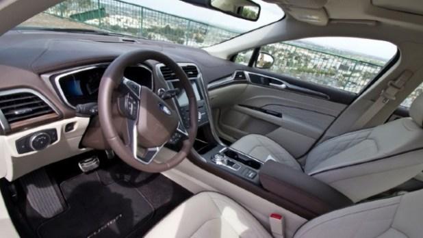 2022 Ford Fusion Active Wagon interior