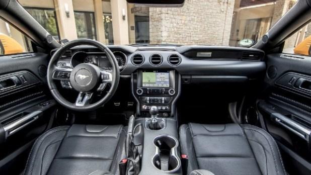 2022 Ford GT interior