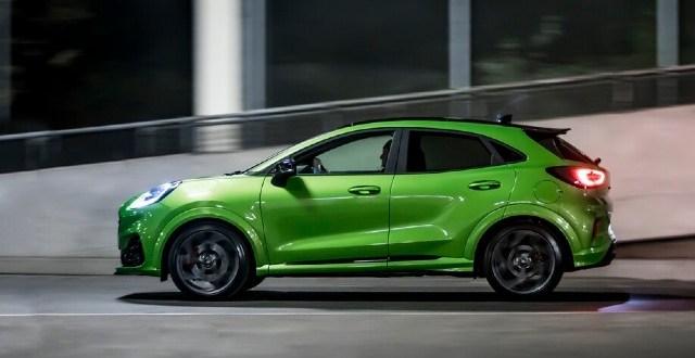 2022 Ford Puma ST colors