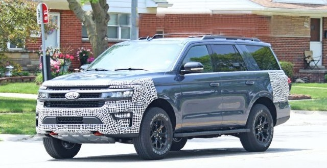 2022 Ford Expedition Timberline spied