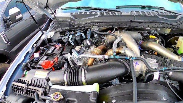 2023 Ford Super Duty diesel