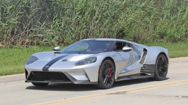 2023 Ford GT spy shots