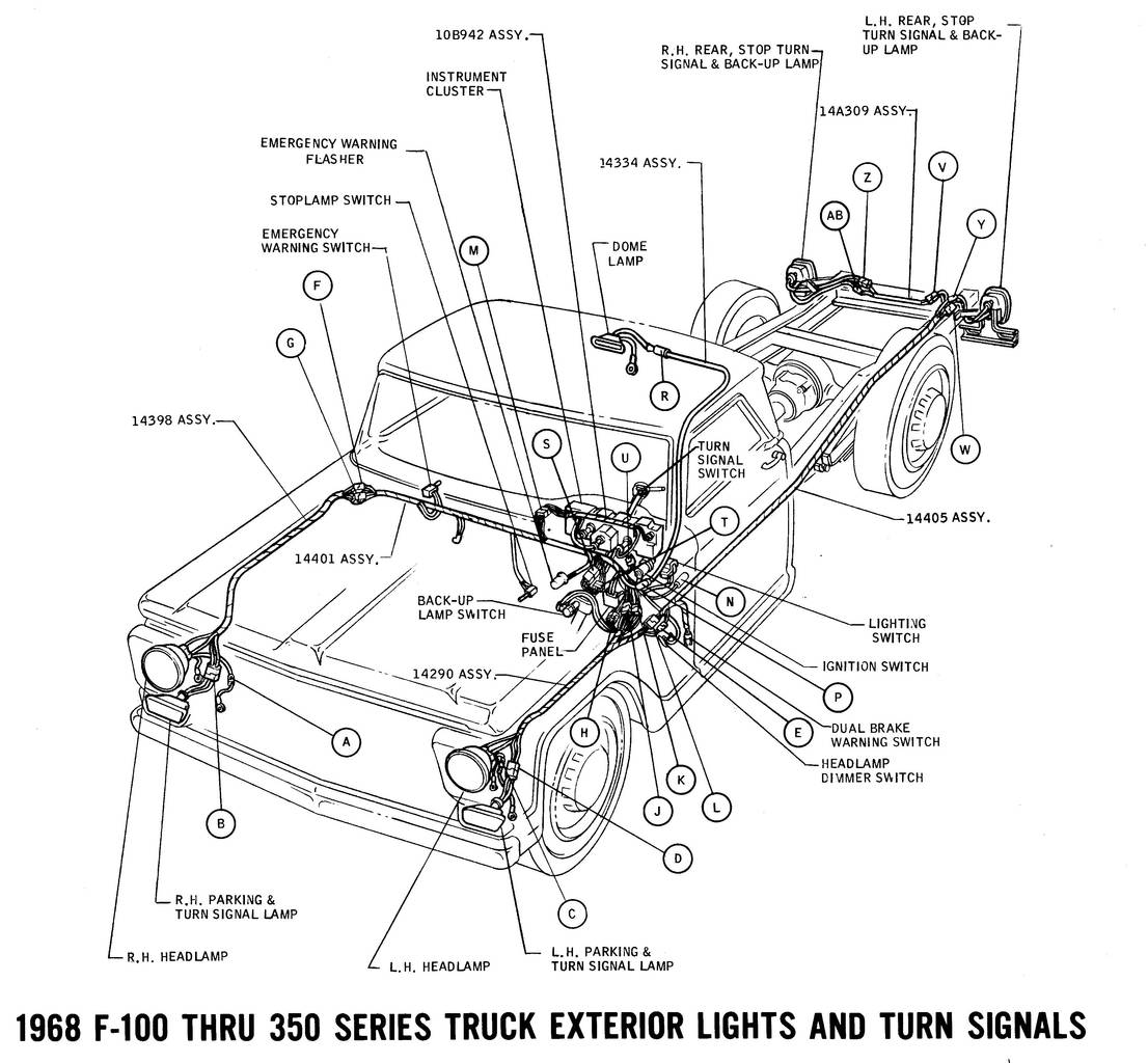 ford truck wiring diagram · wiring diagrams