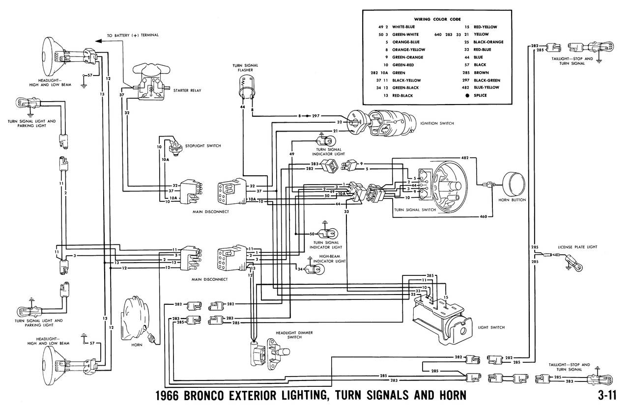 1966 ford truck ignition wiring
