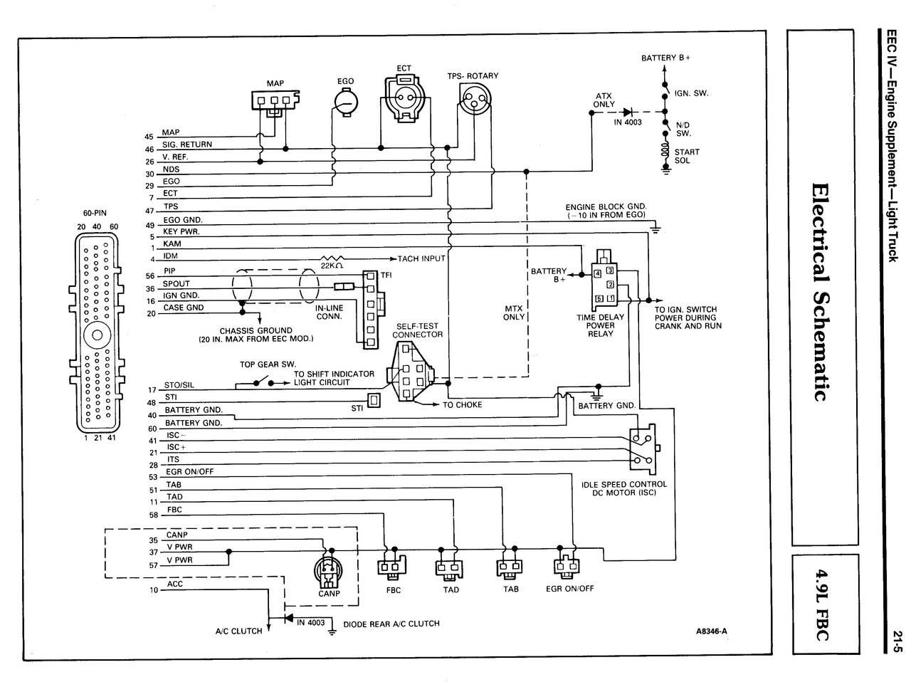 Ford Eec V Wiring Diagram   Online Wiring Diagram