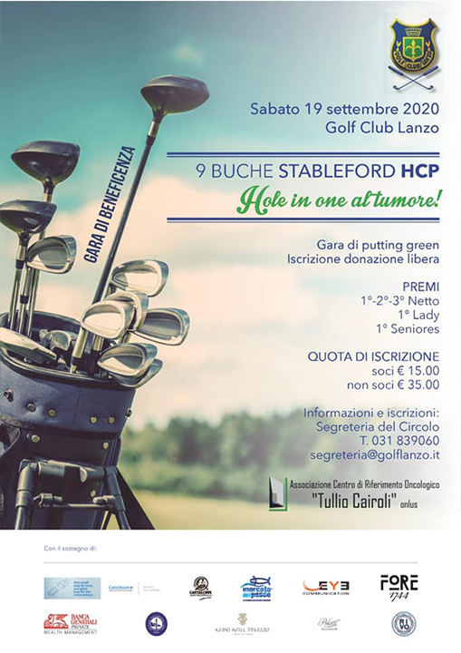 Hole in one al tumore