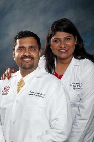 foreign trained dentists in USA - Thomas C. Maveli DDS, MS (Prostho), Meera G. Maveli BDS, MS (Perio)