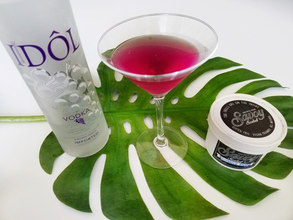 Savoy Sorbet review by popular Dallas blogger Foreign Fresh & Fierce