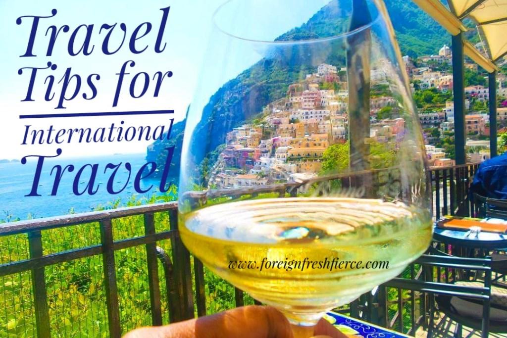 Travel Tips for International Travel
