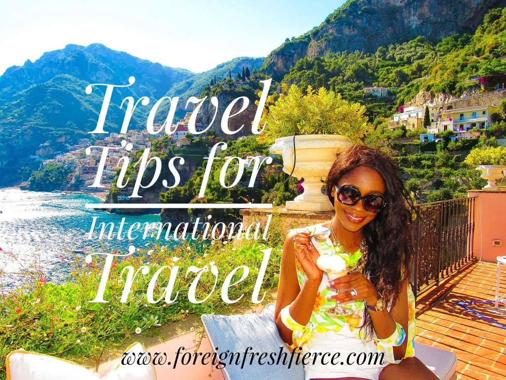 Travel Tips for International Travel