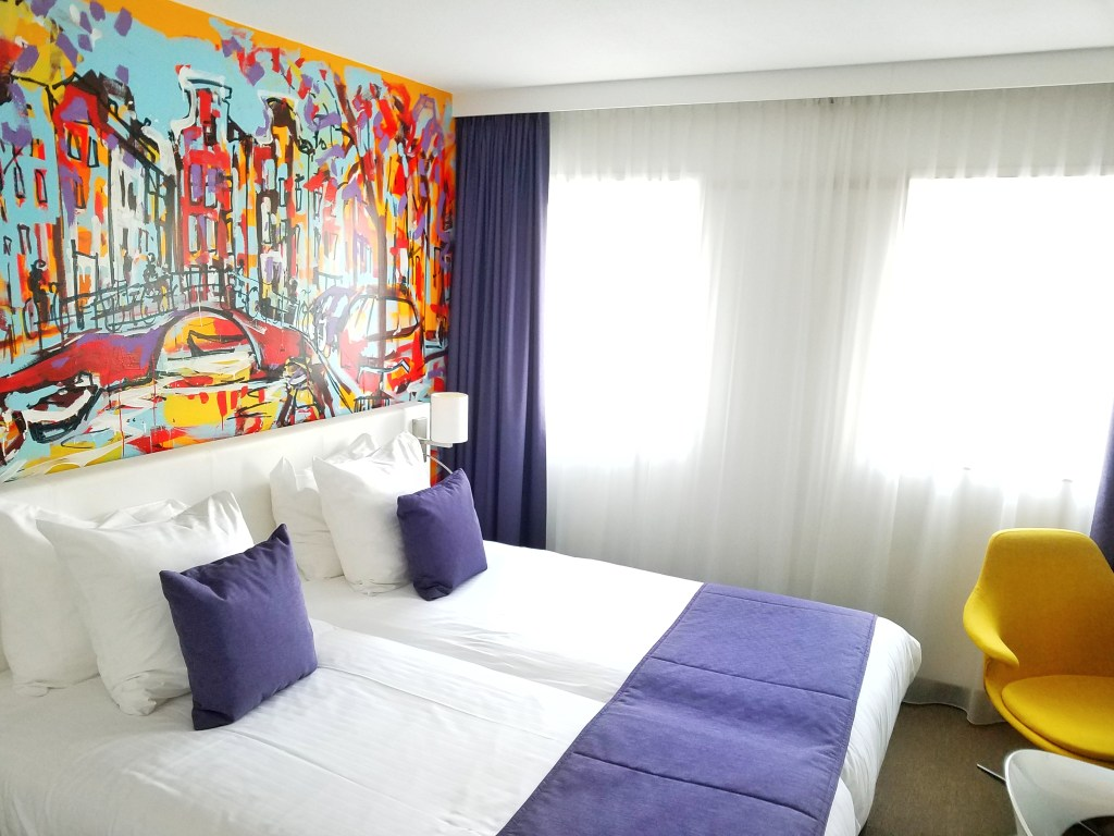 Westcord art hotel amsterdam review travels foreign for Hotel to stay amsterdam