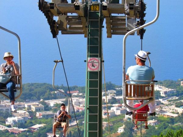 Capri funavia funicular