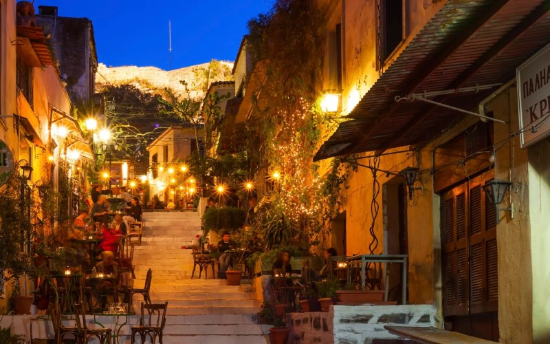 Anafiotika , Athens, Greece, Plaka District