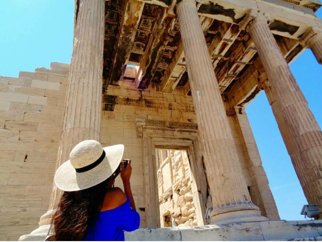 acropolis athens greece Pandroseion