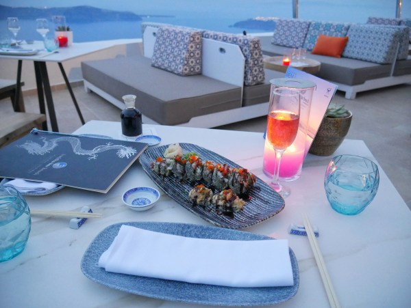 Buddha bar beach lamaltese estate Santorini greece
