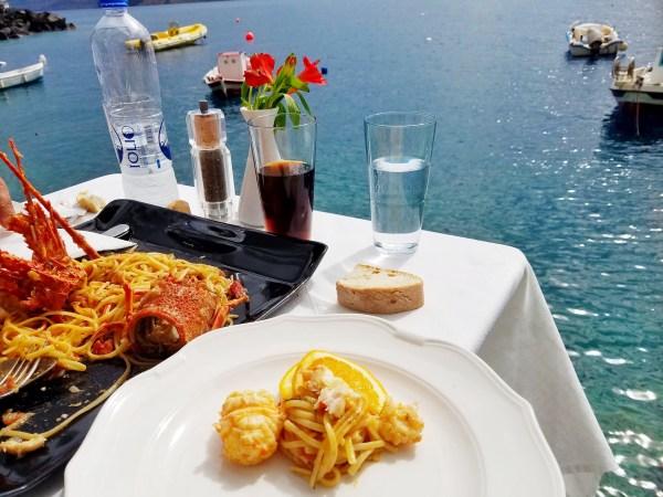 Sunset Taverna Santorini
