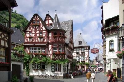 german village Travel around the world without a passport