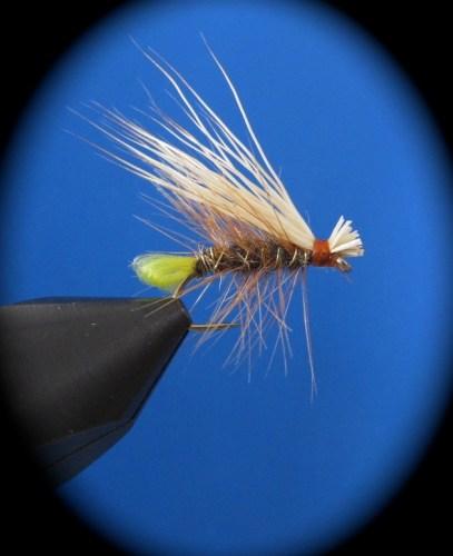 Fliegenbinden Elk Hair Caddis7