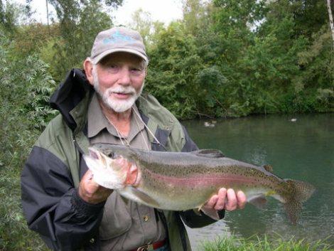 John Goddard (Autor: Trout Flies of Still Water) - stets auf Suche nach neuen Herausforderungen © Neil Patterson