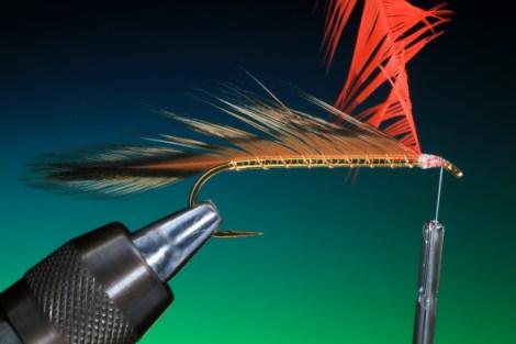 Forelle Äsche Fliegenbinden Barry Ord Clarke Matuka Streamer18
