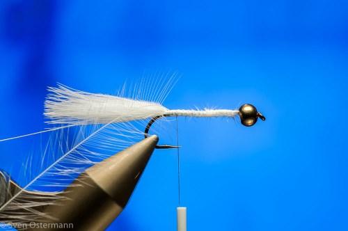 Forelle Äsche Fliegenbinden Woolly Bugger2