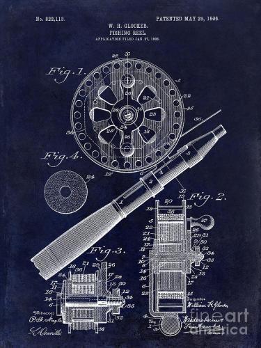 1906-fishing-reel-patent-drawing