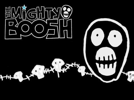 MIghty Boosh Logo