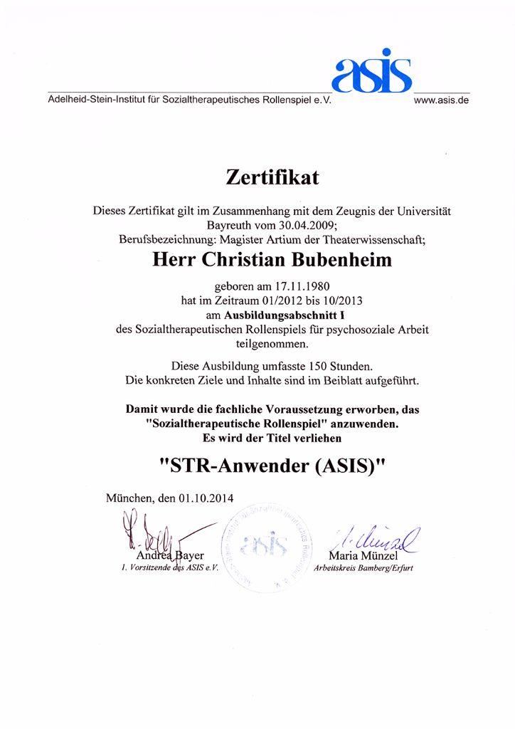 ASIS Zertifikat Ausbildung - Forensic Thinktank (FTT)