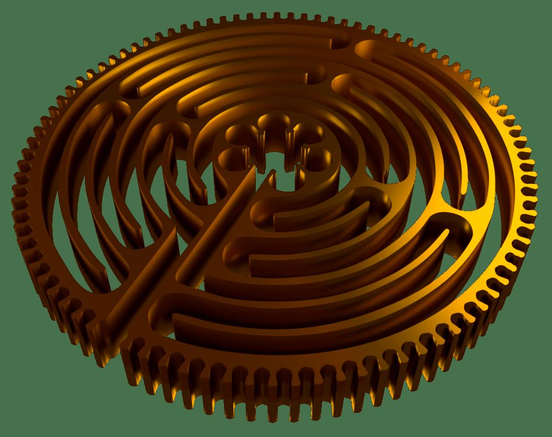 Zahnrad-Labyrinth