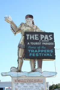 Welcome to The Pas - Home of Trapper's Festival
