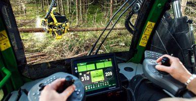 Szybkie zbieranie informacji o lesie.
