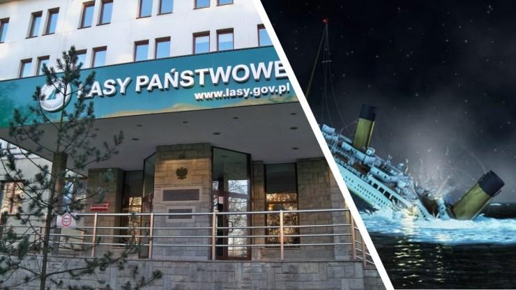 Lasy Państwowe - polski Titanic