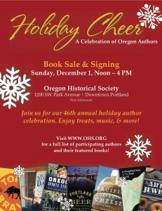 Stevan Allred is one of the authors participating in OHS's Holiday Cheer event.
