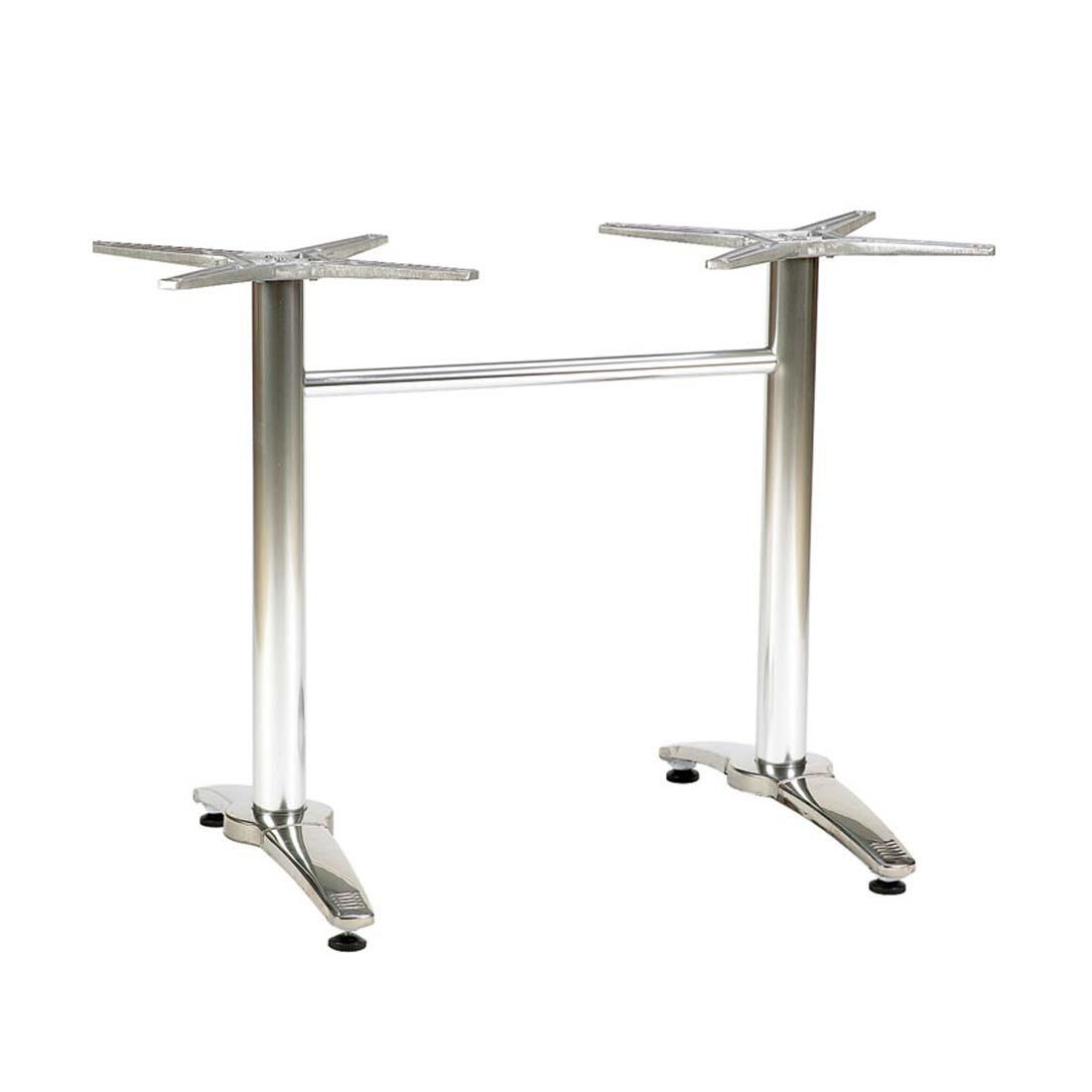 Breeze Twin Pedestal Table Base