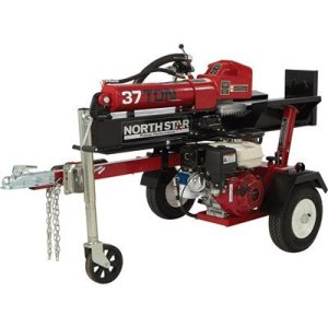 NorthStar 37-Ton, 270cc hydraulic powered log splitter